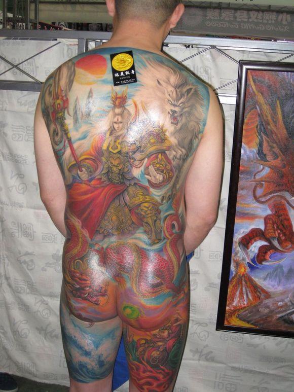 2011中国 廊坊>国际纹身艺术展