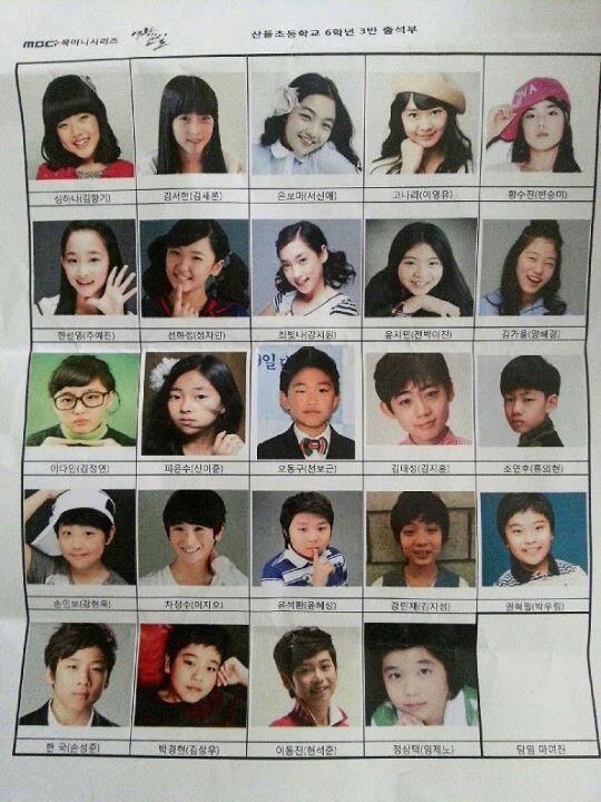 的教室播拍自同名日剧.本贴先期介绍该剧中主要的童星演员.高清图片