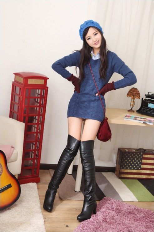 【图】长腿长靴美女