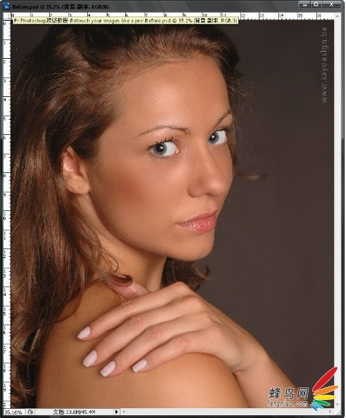 超详细人物皮肤处理方法图片