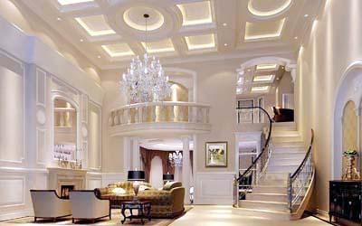 【上海别墅设计知识普及】解析什么是欧式别墅装修图片