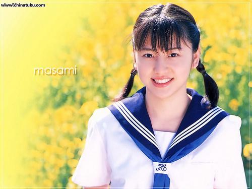 日本女生爱校服 盘点高中校园的制服美少女