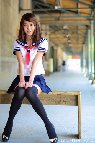 05 06 Winnie小雪 学生服OL图片