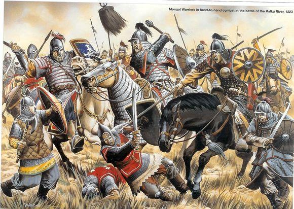 世界历史上二十大最强军队 !!成吉思汗仅排第5