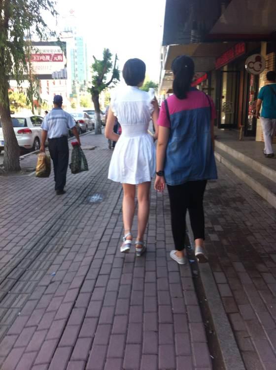街拍美女 长春吧