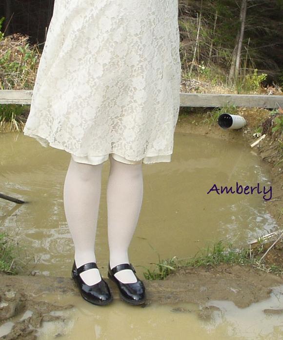 女孩误入泥潭