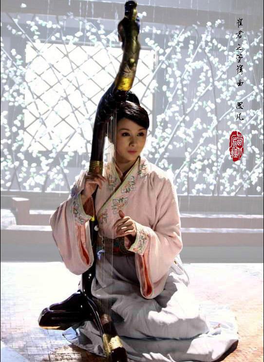 箜篌——中国竖琴图片