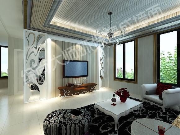 墙面材料,它与传统的油漆,墙纸,生态木等不同,表面已经设计和制高清图片