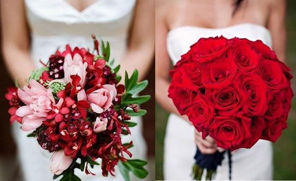 手捧花中常用的一种色彩图片