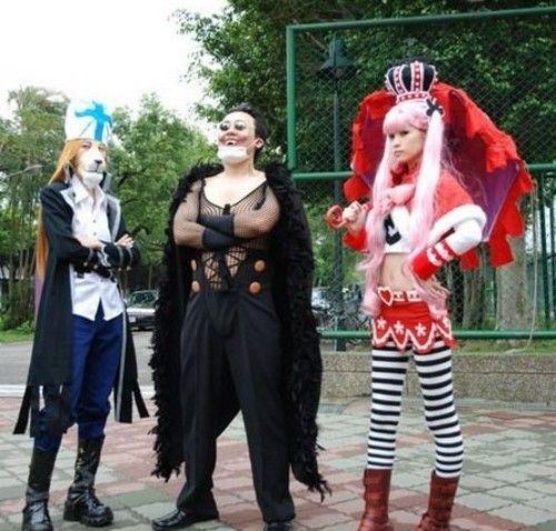 海贼王各人物cosplay图片 海贼王吧 百度贴吧高清图片