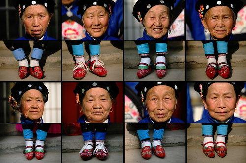 旧中国男人喜欢的变态美