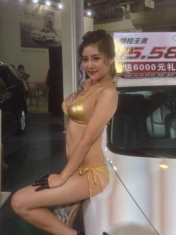 2014泉州晋江sm国际车展靓丽车模!图片