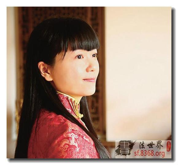 中国当代十大美女书法家