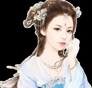 古代女子立绘