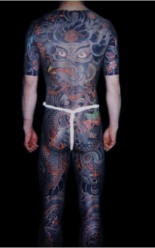 日式传统大图_纹身吧_百度贴吧图片