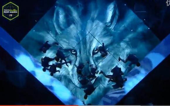 狼与美女结束