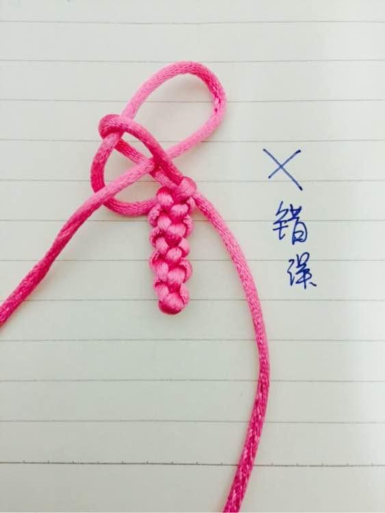 编手绳教程图解-百度_