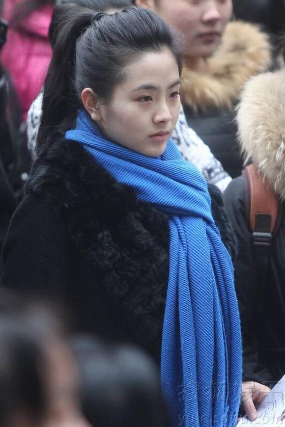 北京电影学院考试美女多 竖