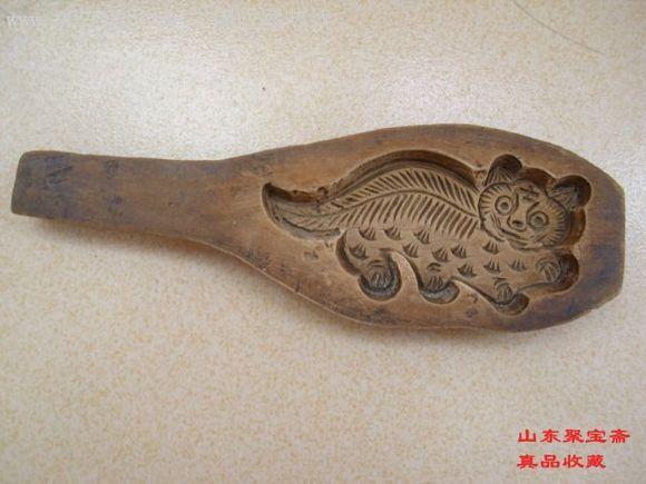 滑石卡子模子为清早期至胶东做面食工具一般在掖县(今莱州)
