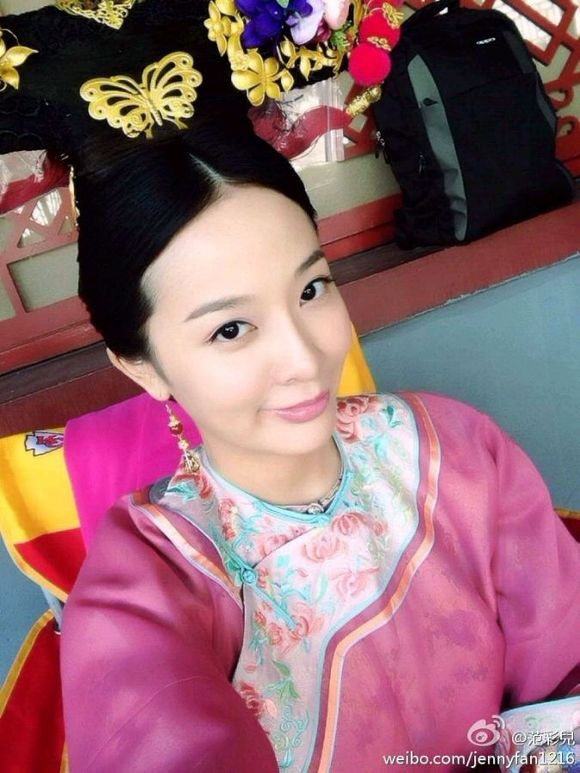 桐姨真面目 蛮好看的 香港的范彩儿图片