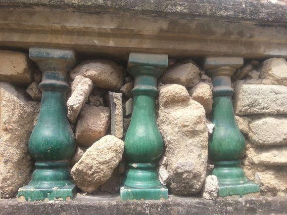 光绪甲辰年间(1904)的绿色葫芦瓶栏杆价值几何图片