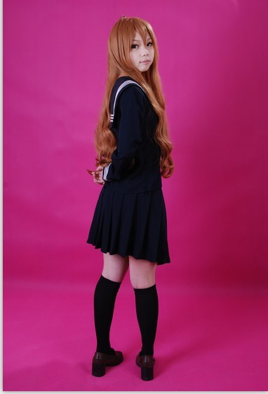 cos服: 1.美好的红白牧牧女仆【本体+头饰+围裙】图片
