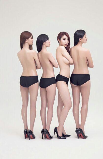 小苍携lol四大美女解说给男人装拍摄裸体写真