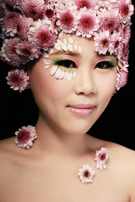 (转)【欣赏】创意妆作品:beauty360化妆造型图片