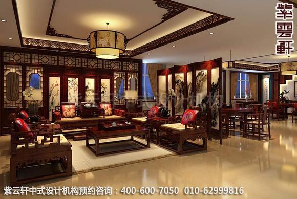 红木展厅古典中式装修案例图-诗画意境家具展厅-中式图片
