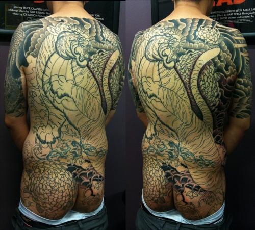 分享日式传统纹身图片