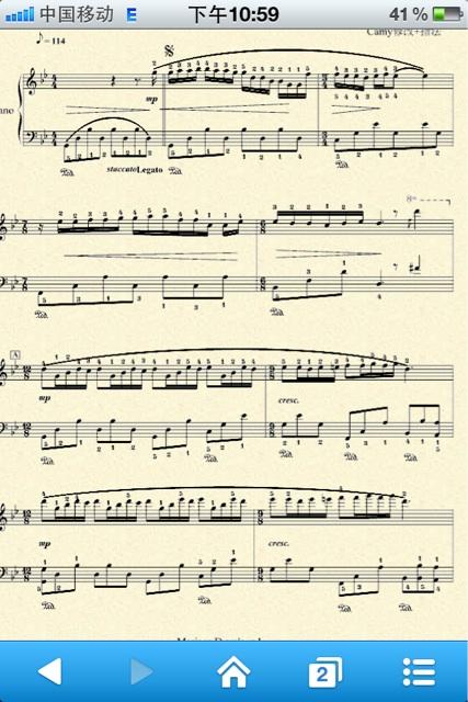 《梦中的婚礼》原版钢琴谱有木有?图片