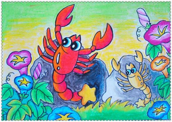 新阳光暑假儿童美术班招生图片