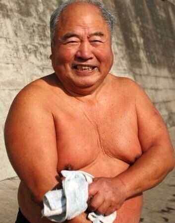 胖老头图片,白胖老头的微博、白胖老头犯贱微博