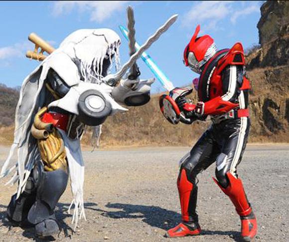 手里剑战队vs假面骑士drive春假合体1小时特别篇片段图片