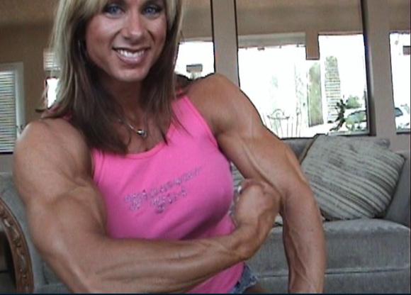 【图片】超级强壮的金发美女