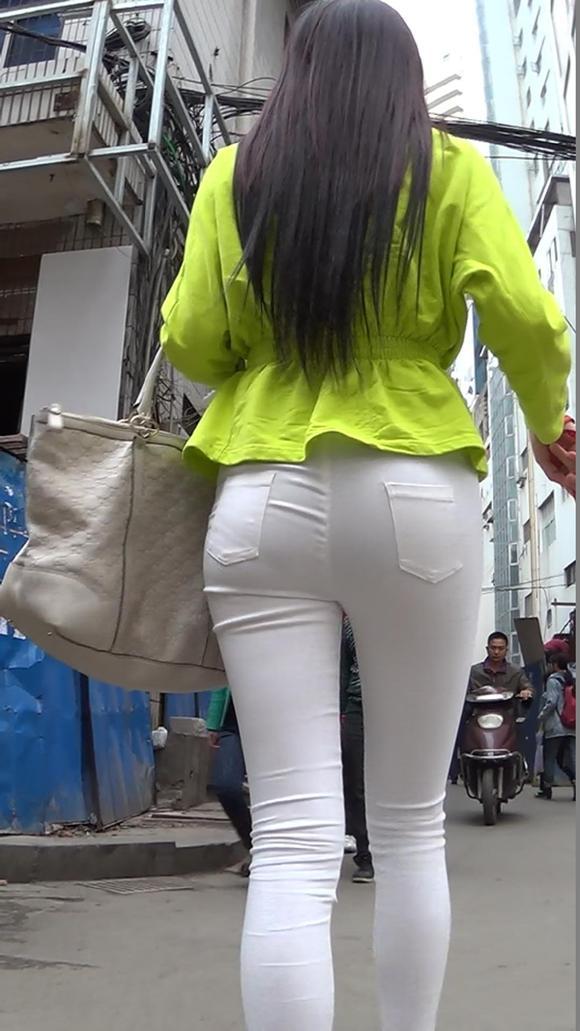 牛仔裤美女 紧牛吧
