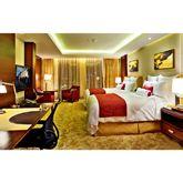 快捷酒店家具设计上要求简节实用,色彩和风格与定位风格协调高清图片