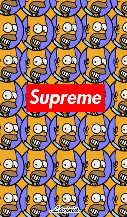 supreme辛普森壁纸之前没有镇楼图人气好少这里重发图片