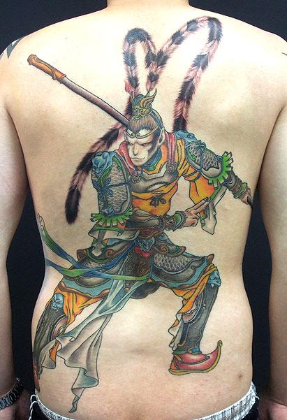 我的纹身 齐天大圣,斗战胜佛图片