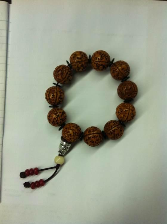 我的藏式金刚菩提子图片