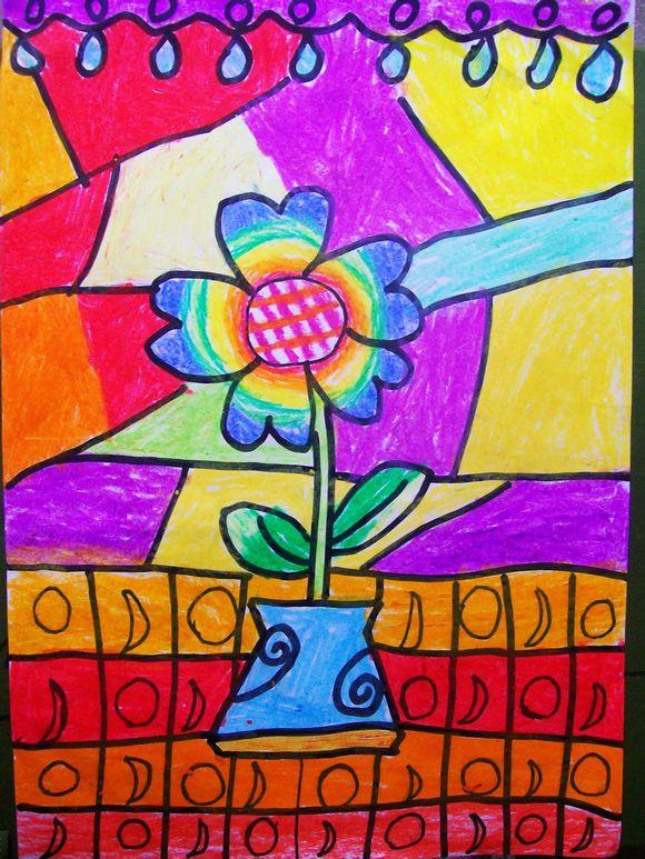 儿童学画画的好处----------》艺美画室图片