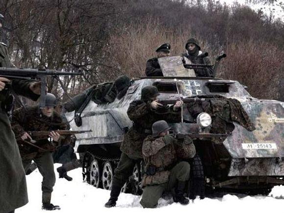 二战欧洲战场是阿登森林战役图片