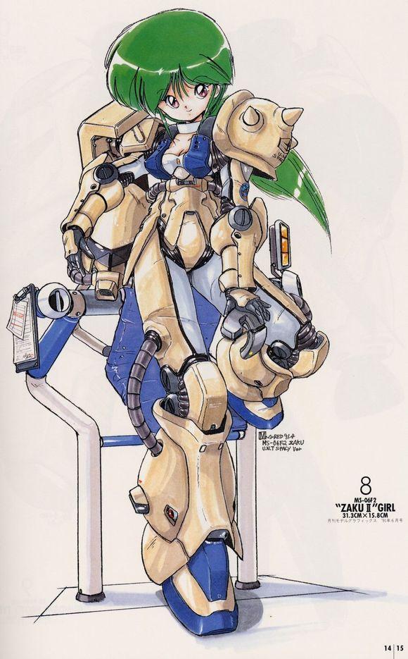 混搭:二次元兵器少女