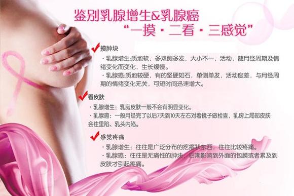 女性要如何鉴别乳腺增生?乳腺癌?