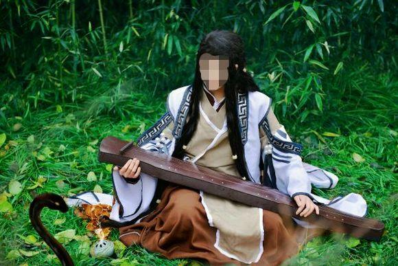 古剑奇谭一太子长琴全套衣服+造型毛=图片