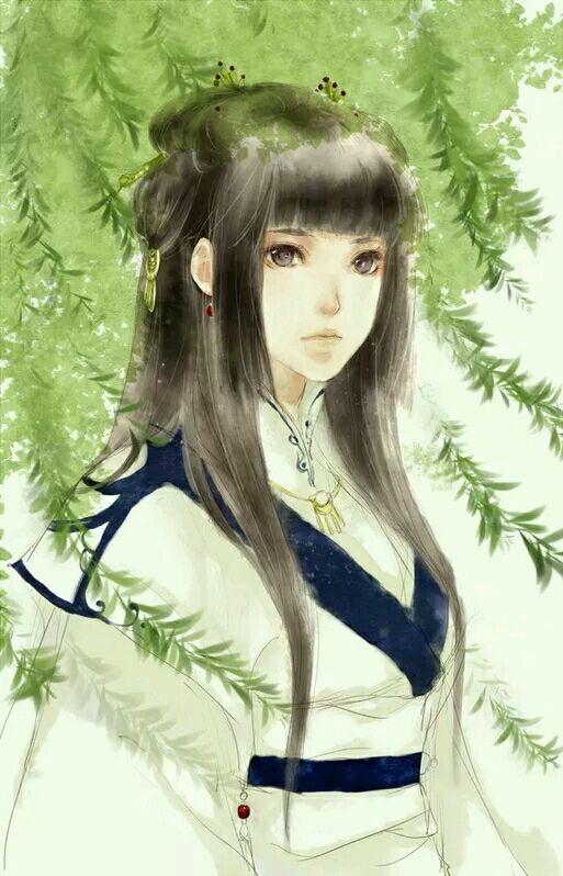 【清卿阁】古风系列——白衣女子图片