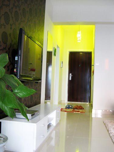 69平婚房8万简约装修效果图 最火小户型装修案例 室内设计高清图片