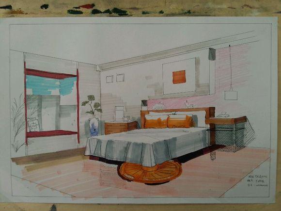 室内设计效果图表现技法_潍坊三石画室吧_百度贴吧图片
