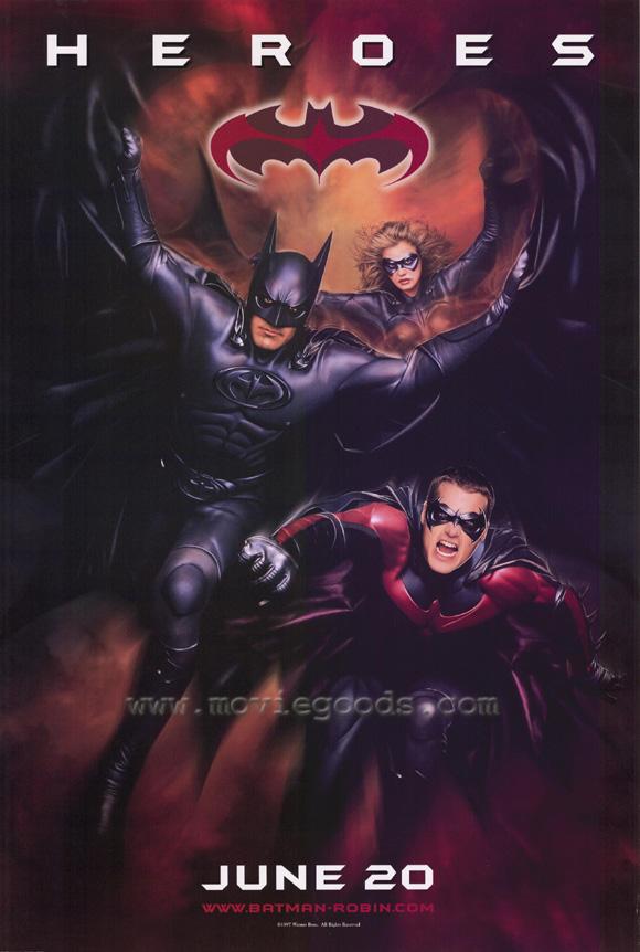 《蝙蝠侠与罗宾》电影