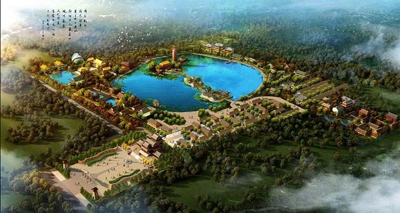 我院编制的《盛世南宫文化产业园》策划设计方案项目图片